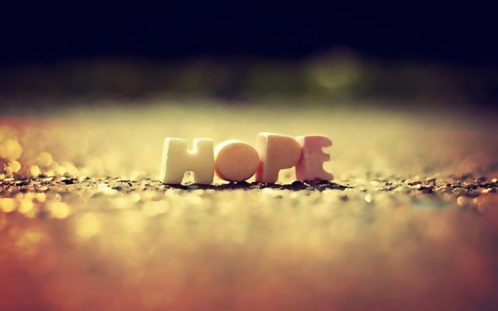 Does hope lead to better futures?