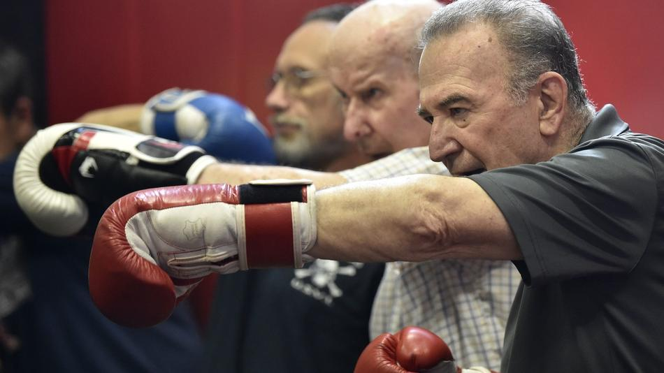 New London Gym's Adaptive Boxing Program Helps Those With Parkinson's